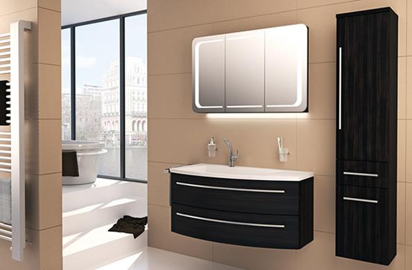 wings badm bel serie mit geschmeidigem frontverlauf. Black Bedroom Furniture Sets. Home Design Ideas